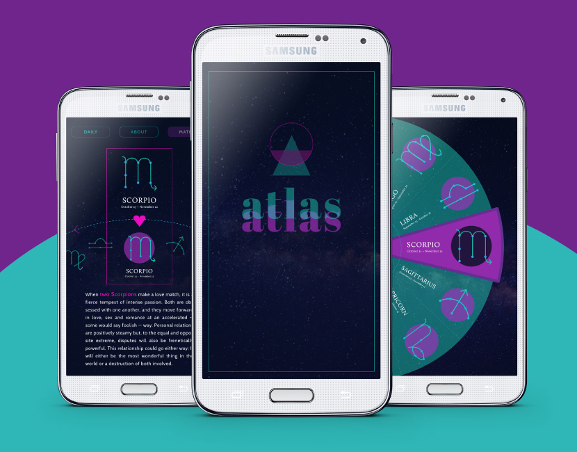 Atlas - Mobile app