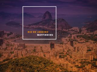 Rio de Janeiro - Wayfinding system
